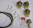 Wiring Kit for Jazz Bass (with split shaft pots)